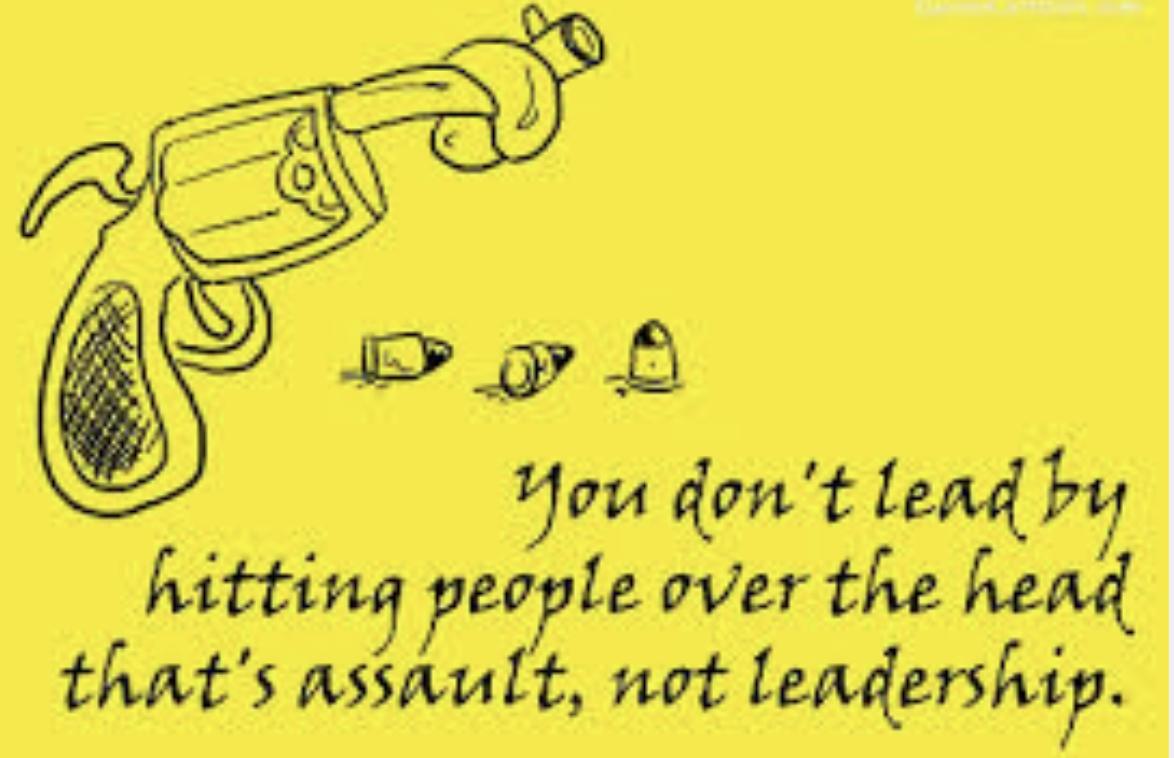 Assault or Leadership